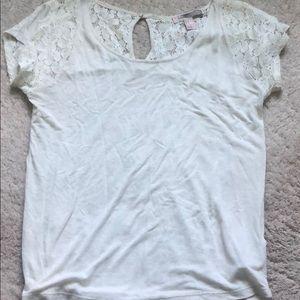 Tops - Forever 21 white t shirt (s)